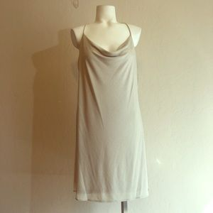 Cece Cowl Neck Mini Sheath Dress